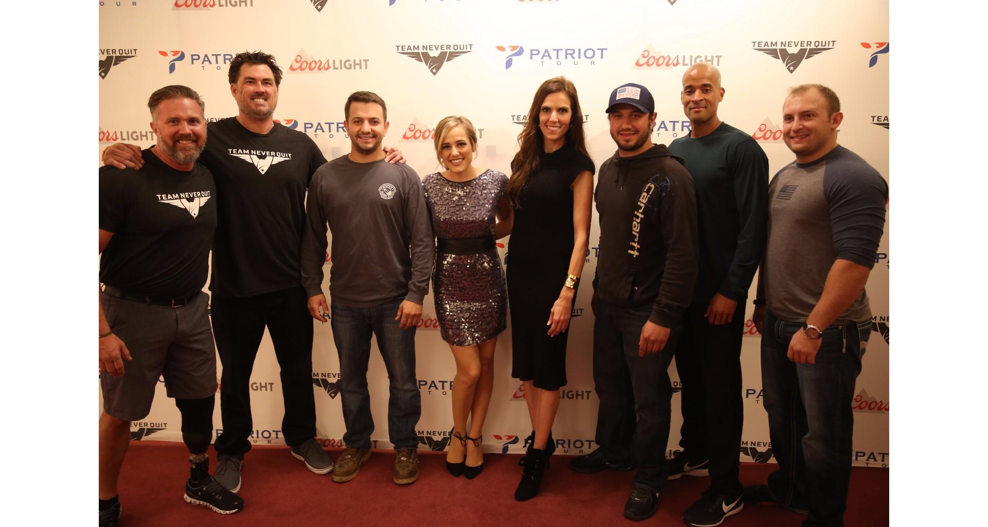 Team Never Quit Patriot Tour